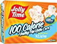 Jolly Time Healthy Pop Kettle Corn - 100 Calorie Microwave Popcorn Mini Bags, 4-Count Boxes (Pack of 12)