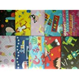 20 SHEETS OF CHILDREN'S WRAPPING PAPER - (2 PACKS OF 10)