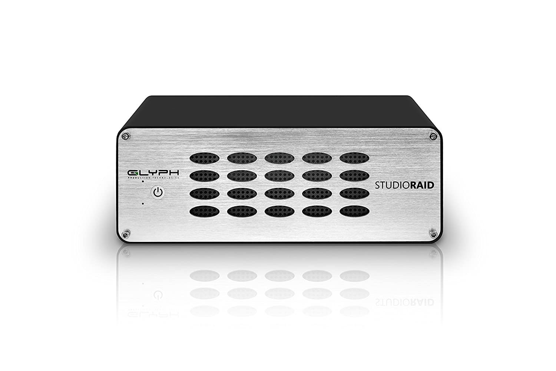 Glyph Studio RAID SR6000 6TB External Hard Drive RAID 0, 1 or JBOD  (7200RPM, USB 3, FW800 or eSATA)