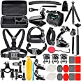 Neewer 50-In-1 Action Camera Accessory Kit, Compatible with GoPro Hero10/Hero9/Hero8/Hero7, GoPro Max, GoPro Fusion, Insta360