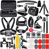 Neewer 50-In-1 Action Camera Accessory Kit Compatible with GoPro Hero 9 8 Max 7 6 5 4…
