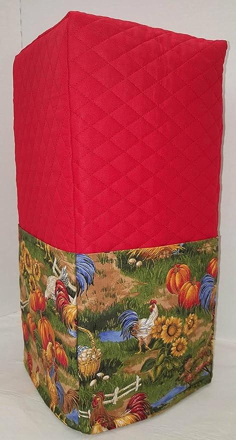 Funda para licuadora de gallo (rojo, grande): Amazon.es: Hogar