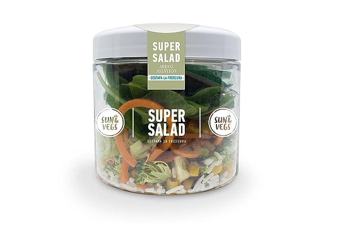 Sun&Vegs - Super Salad Asiática de Arroz Salvaje y Edamame ...