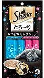 シーバ (Sheba) とろ~り メルティ かつお味セレクション 48g(12g分包×4個) 6袋セット [猫用おやつ]