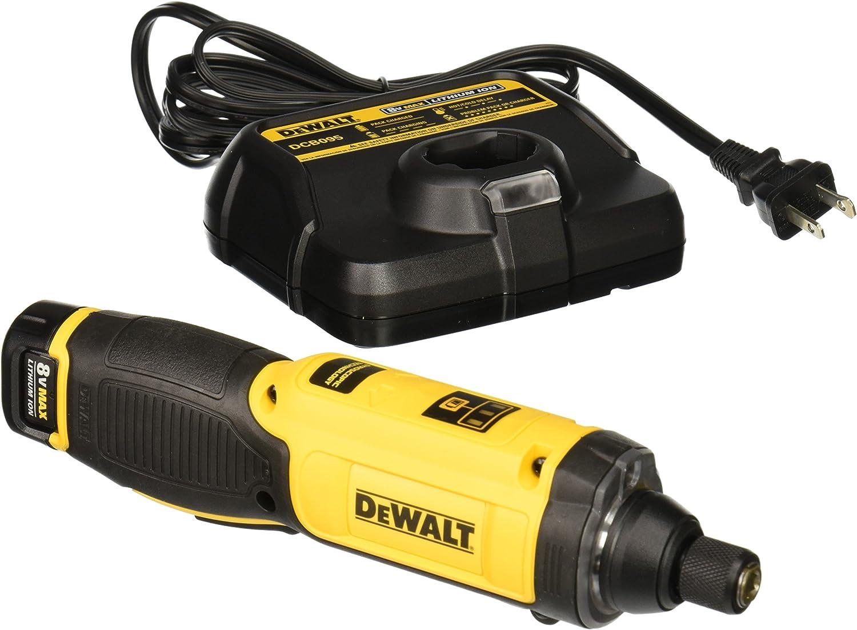 DEWALT DCF680N2 8V MAX Gyroscopic Screwdriver w// 2 Li-Ion Batteries New