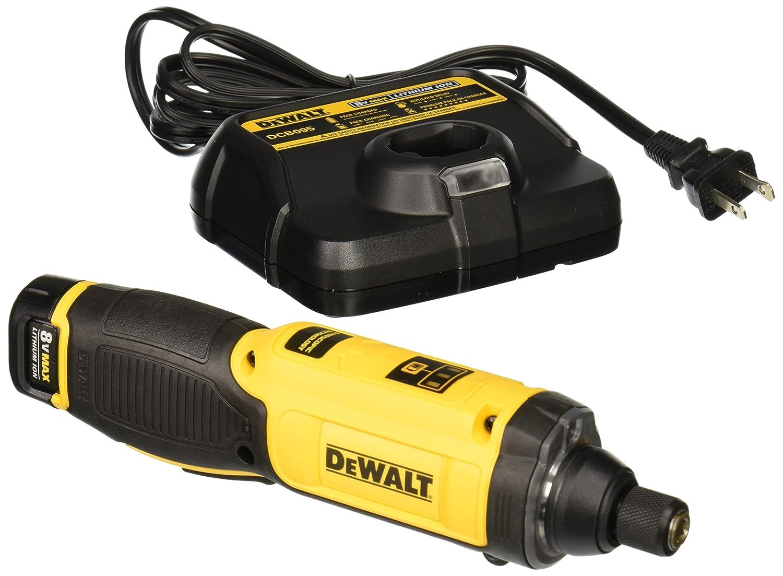 dewalt screwdriver. amazon.com: dewalt dcf682n1 8v max gyroscopic inline screwdriver: home improvement dewalt screwdriver h