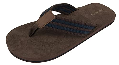 f44652d379395 Dockers Men s Dallas Flip Flop Sandal with Classic Comfort Footbed