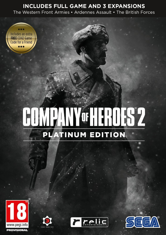 Amazon Com Company Of Heroes 2 Platinum Edition Pc Video Games