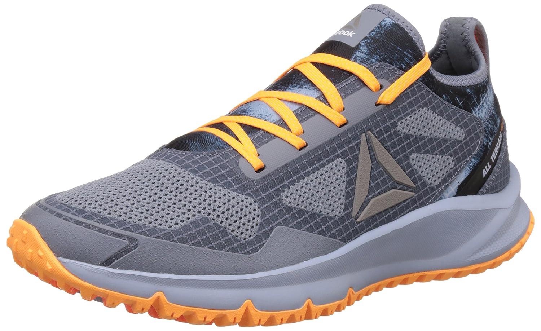 Reebok Bd4510, Zapatillas de Trail Running para Hombre 41 EU|Varios Colores (Aster Dust / Gbl Grey / Fr Spark / Wld Orange )