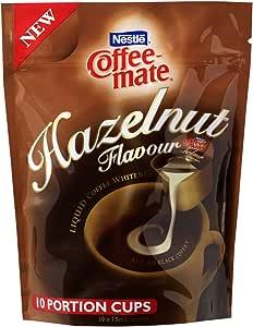 NESTLÉ COFFEE-MATE Hazelnut Flavour Liquid Coffee Whitener 10 Cups x 15mL, 150g