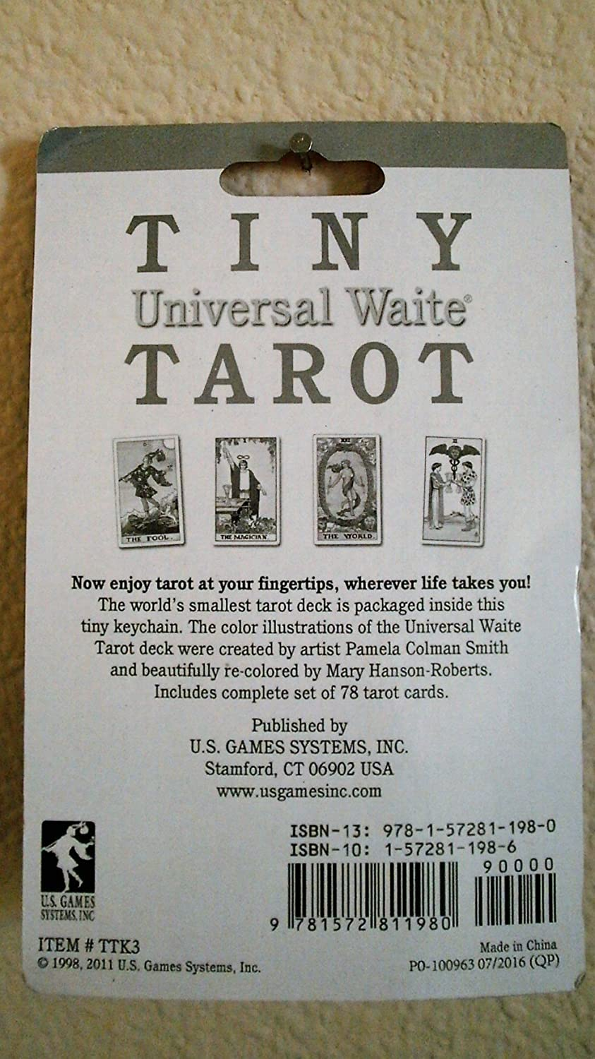 Amazon.com: Tiny Tarot Cards - KeyChain by US Games: Toys & Games