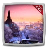 best seller today Castle Snowfall HD - Wallpaper & Themes
