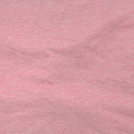 TELIO 0590103 Tela de Punto de algodón orgánico de Mezcla de Color Rosa de The Yard,: Amazon.es: Juguetes y juegos
