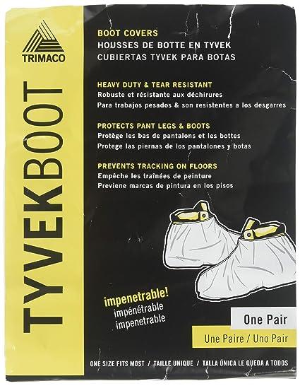 Amazon.com: Trimaco 04511/36 TYVEK Hi-Top Boot Guards Fits Most ...