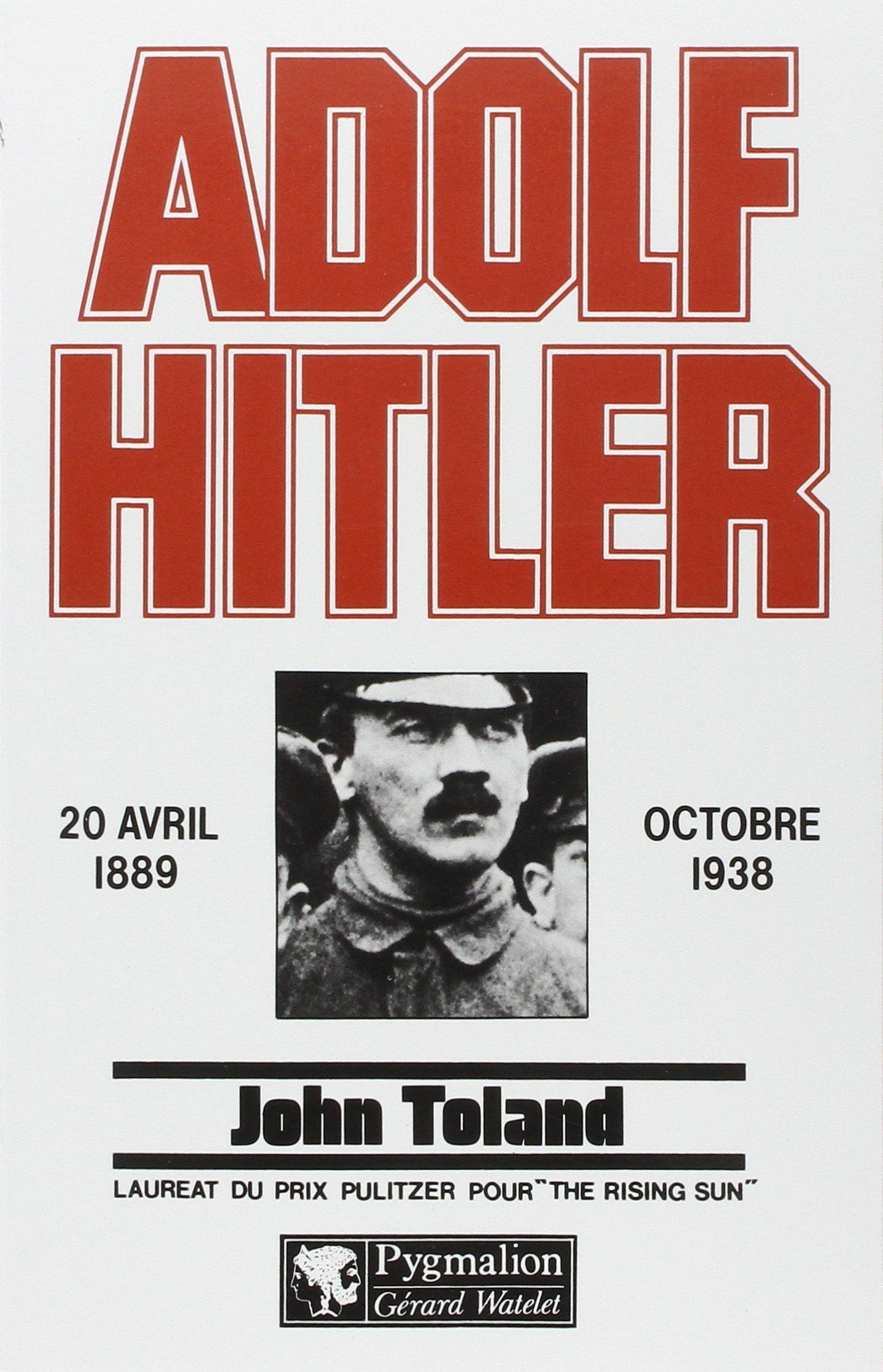 Livres Hitler Toland John Toland Hitler Adolf Livres Adolf John NkX80nwOP