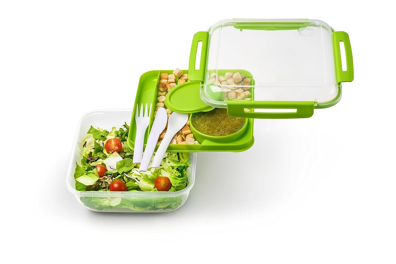 Sundis 93001 Lunch Box 1L Memory B3 19.39x19.39x6,4 cm Plastic Blue Rotho Kunststoff AG ROTHO_1009306112