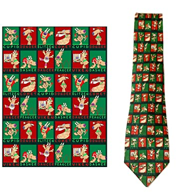 Amazon.com: Stonehouse Collection Men's Christmas Tie - Funny ...
