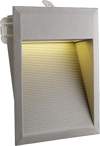 SLVDOWNUNDER LED Wandeinbaulampe Aluminium Hauseingang IP44 LED