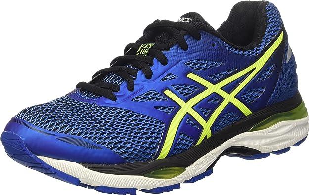 Asics Hombre Gel-Cumulus 18 Entrenamiento y Correr Azul Size: 39: Amazon.es: Zapatos y complementos