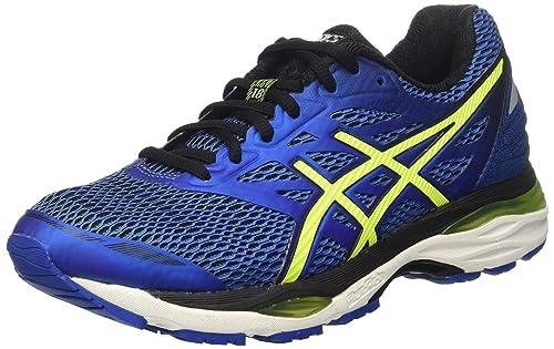 759035bbeee Asics Hombre Gel-Cumulus 18 Entrenamiento y Correr Azul Size  39   Amazon.es  Zapatos y complementos