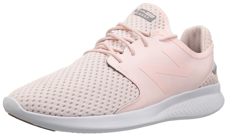 New Balance Women's Coast-V3 Running Shoe B01MY1YAWP 6 B(M) US Sunrise Glo/Silver