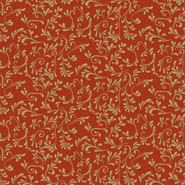 pliable 20/x 20/cm rouge//or Baier /& Schneider feuilles de papier