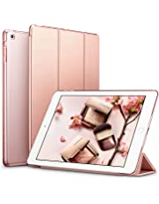 esr iPad Mini Case, iPad Mini 2 / Mini 3 Case,Ultra-slim Lightweight Smart Case with Trifold Stand and Auto Sleep/Wake, Microfiber Lining, Translucent Frosted Back for iPad Mini 1/2/3 (Rose Gold)