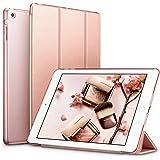 iPad Mini Hülle, ESR Auto Aufwachen / Schlaf Funktion PU Ledertasche Smart Case Cover mit Durchschaubar Rückseite Abdeckung Schutzhülle für iPad mini 3/2/1 (Roségold)