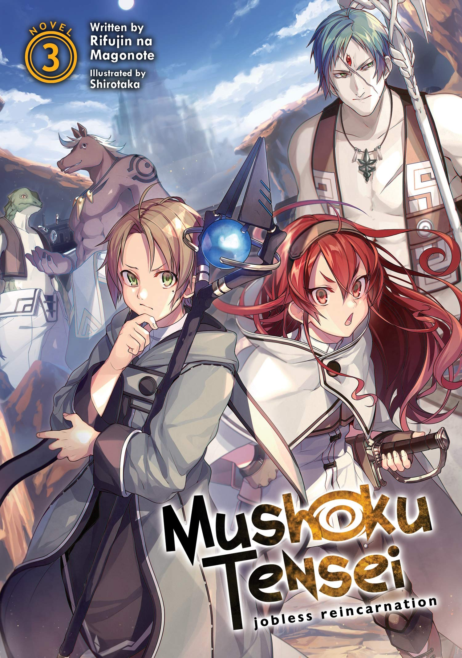 Mushoku Tensei: Jobless Reincarnation Light Novel Vol  3 Mushoku
