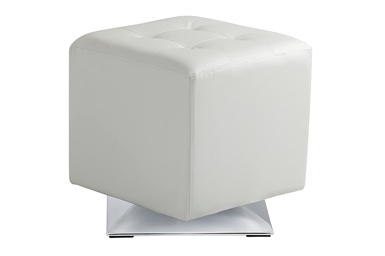 Amazon.com: Sunpan Modern Marco Swivel Ottoman, Snow: Kitchen & Dining