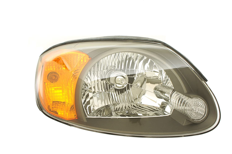 Genuine Hyundai Parts 92102-25550 Passenger Side Headlight Assembly Composite