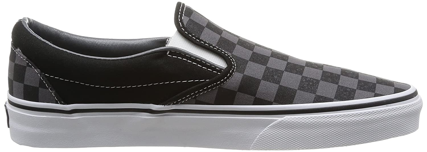 Vans Unisex Classic (Checkerboard) Slip-On M Skate Shoe B000PGPFHW 44 M Slip-On EU / 12 B(M) US Women / 10.5 D(M) US Men|Black/Pewter Checkerboard a59fef