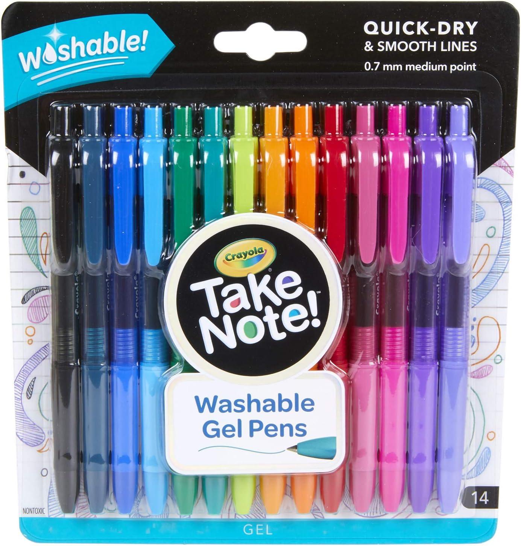 6 White Gel Pens for CraftsKids Stationery Back to School