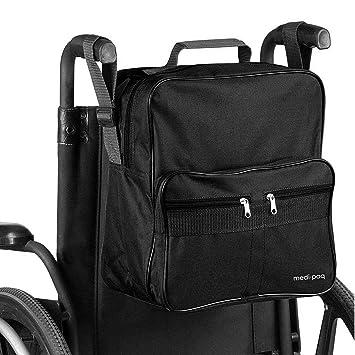 bdfb2d30c0c076 Luxus Rollstuhltasche – Befestigt an den Griffen um nützlichen und  praktischen Stauraum zu bieten