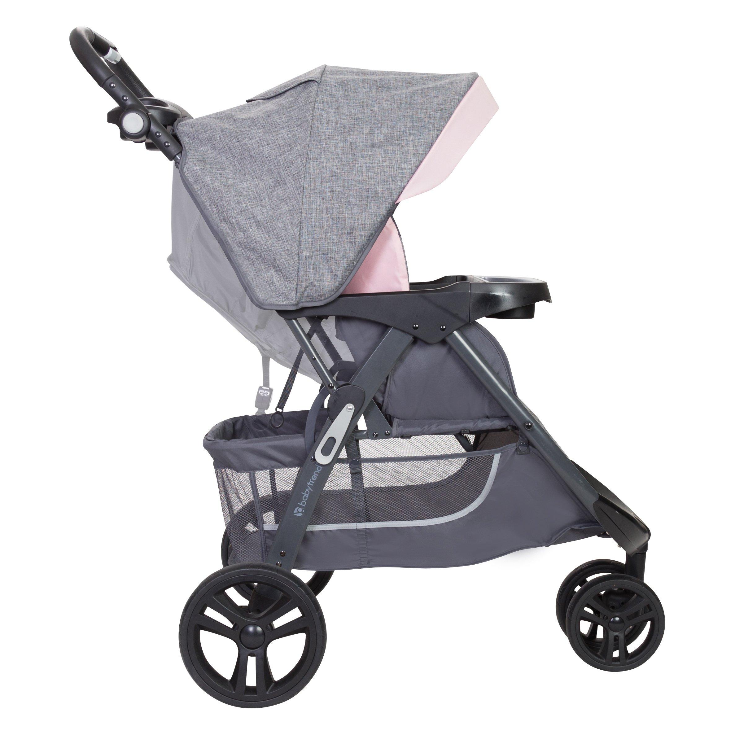 Baby Trend Skyline 35 Travel System Starlight Pink