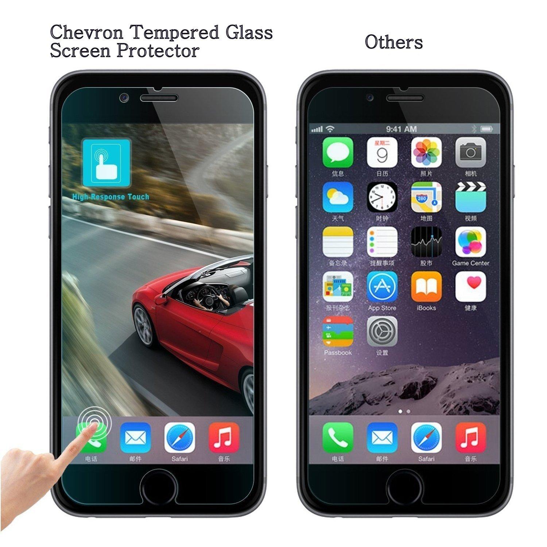 Chevron Tempered Glass Screen Protector for Moto G Plus 4th Gen G4 Amazon Electronics