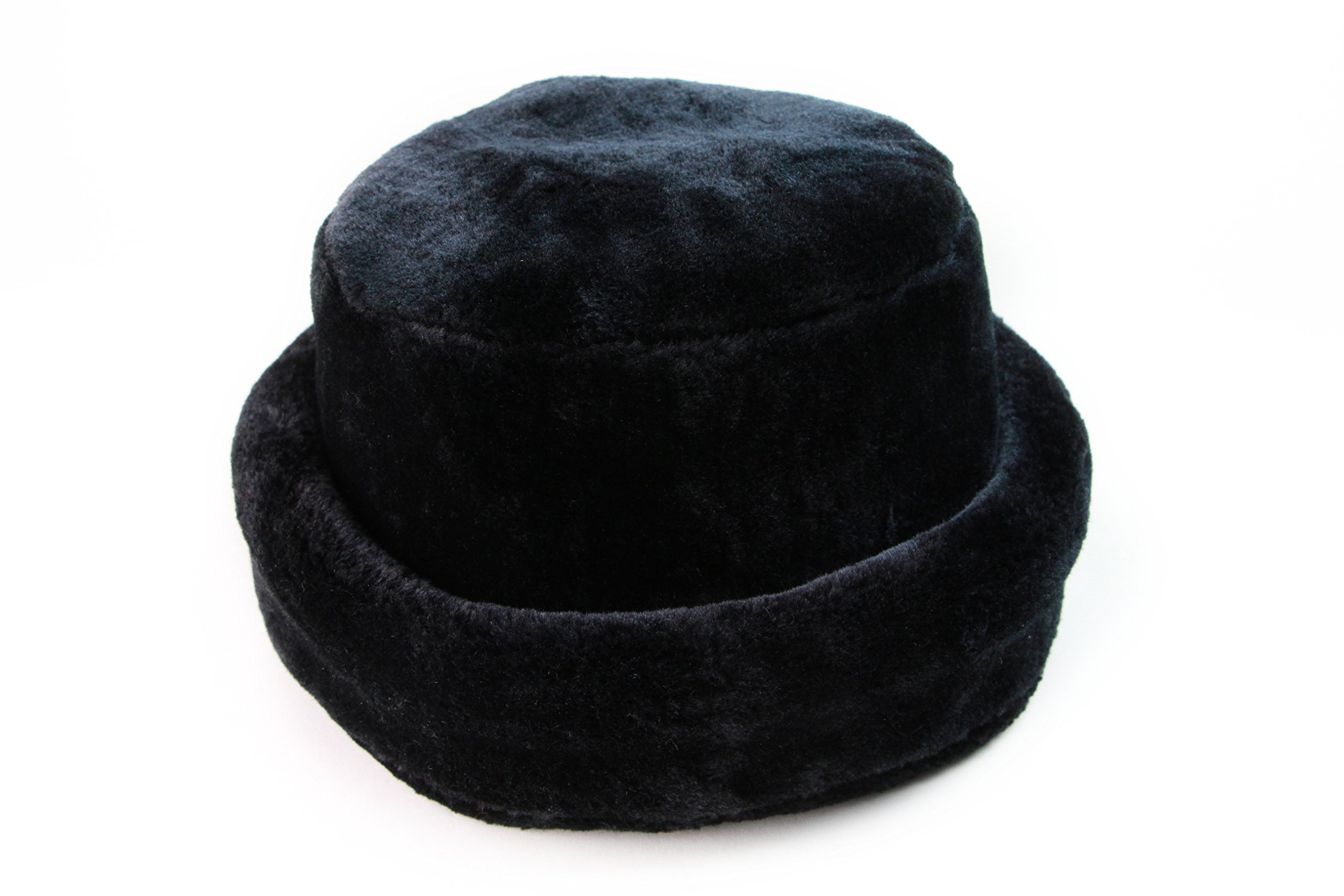 Captain Adjustable Mink Hat