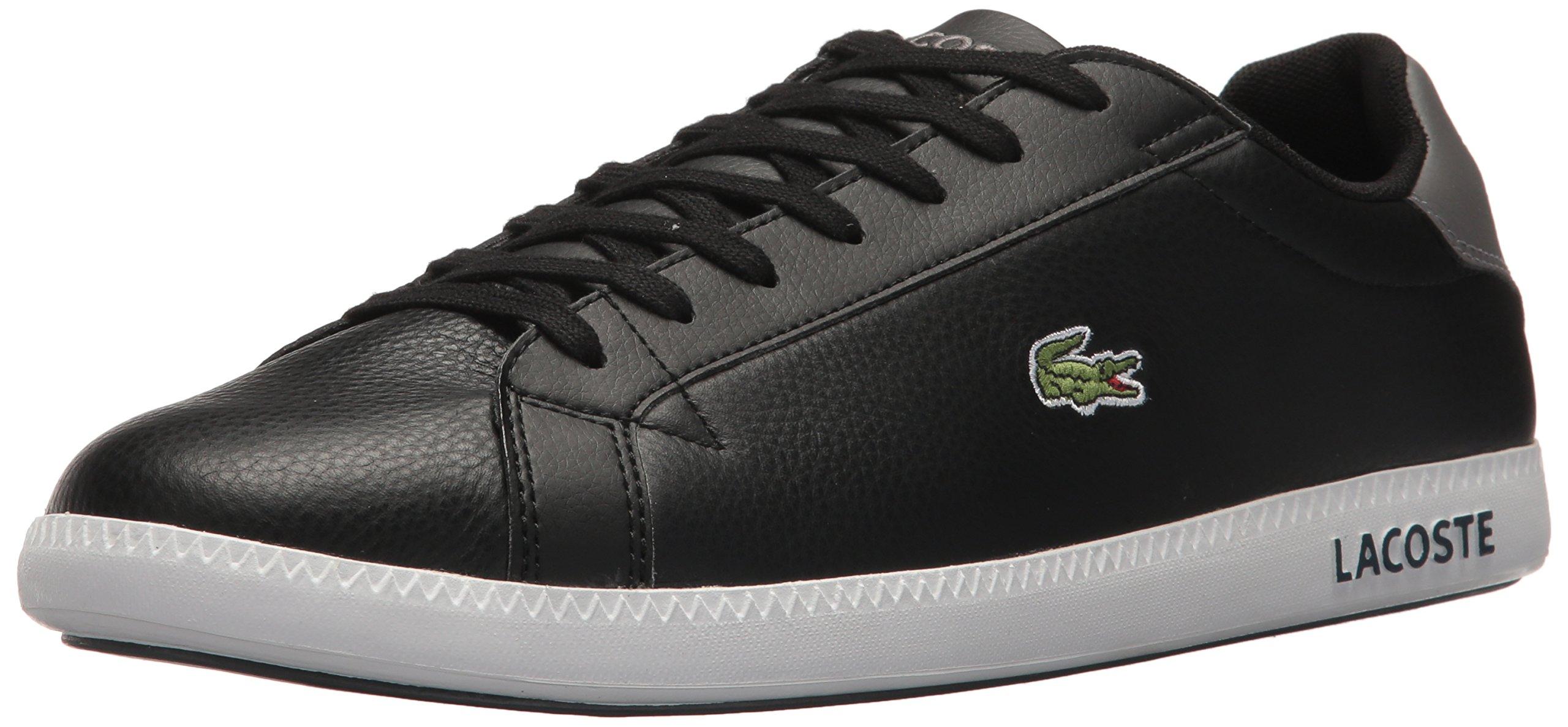 Lacoste Men's Graduate LCR3 Sneakers,Grey leather,7