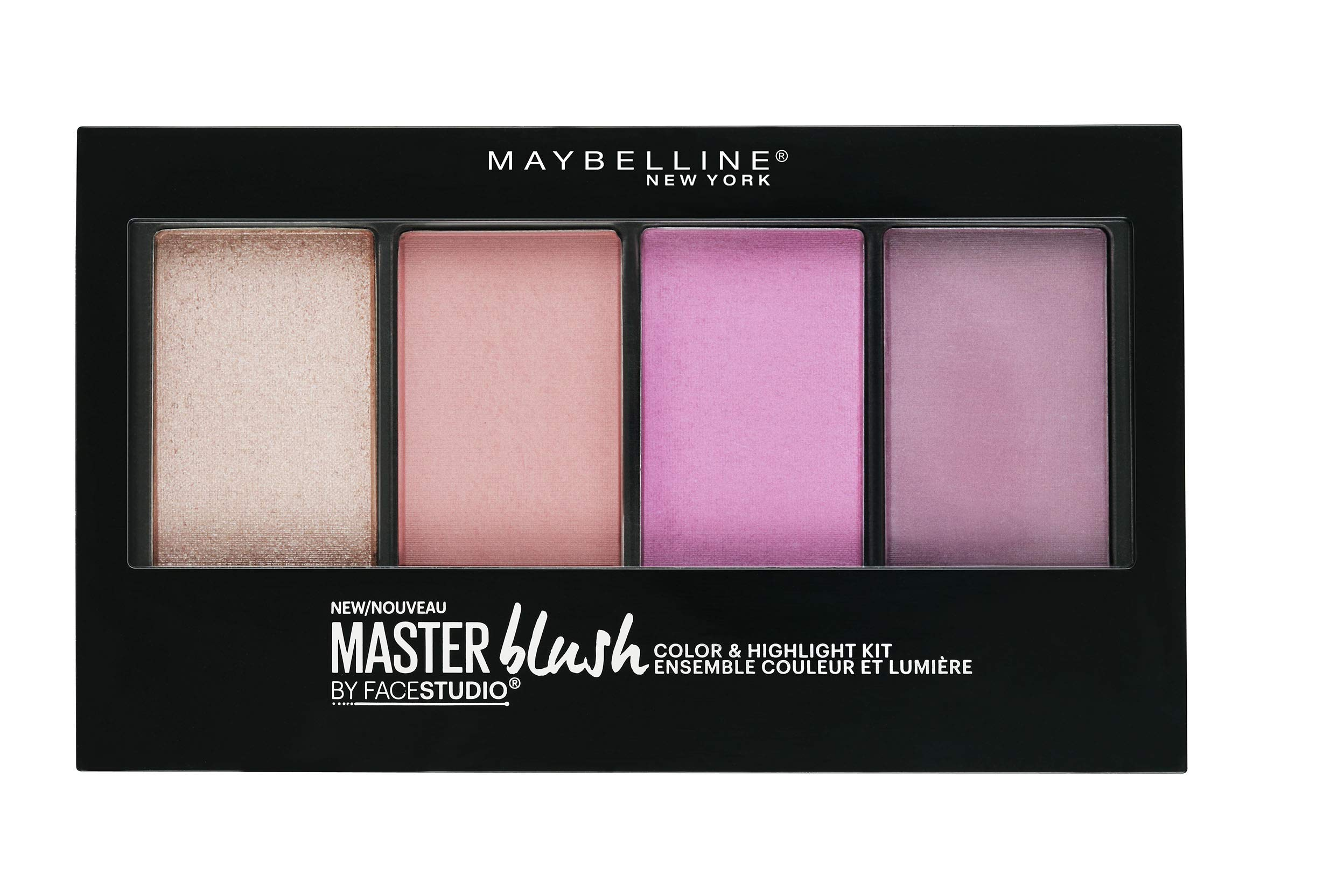 Maybelline New York Facestudio Master Blush Color & Highlight Kit, 0.47 oz.