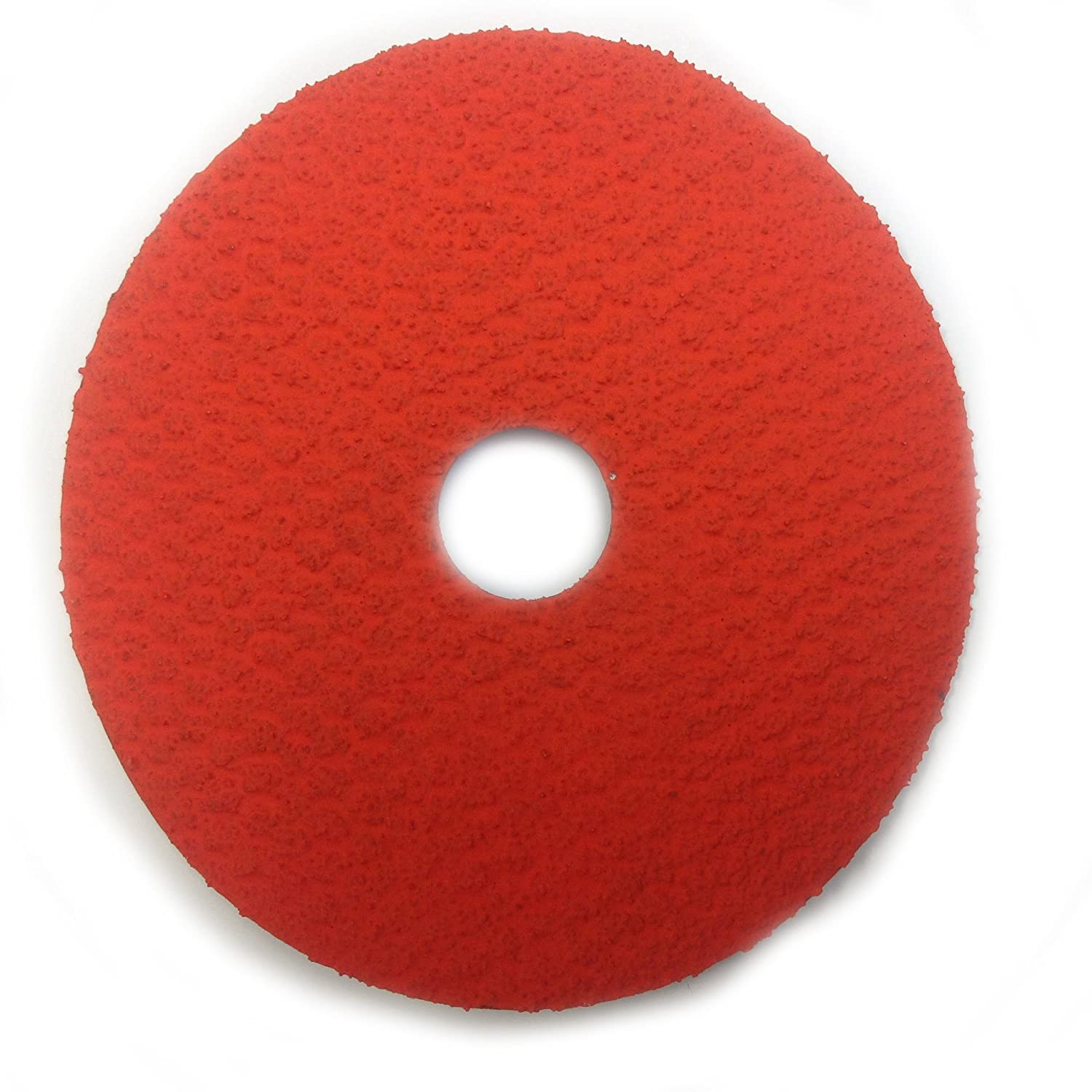 Sungold Abrasives 17264 Center Hole 50 Grit Excella Orange Ceramic Fibre Disc (25 Pack), 4-1/2' x 7/8' 4-1/2 x 7/8