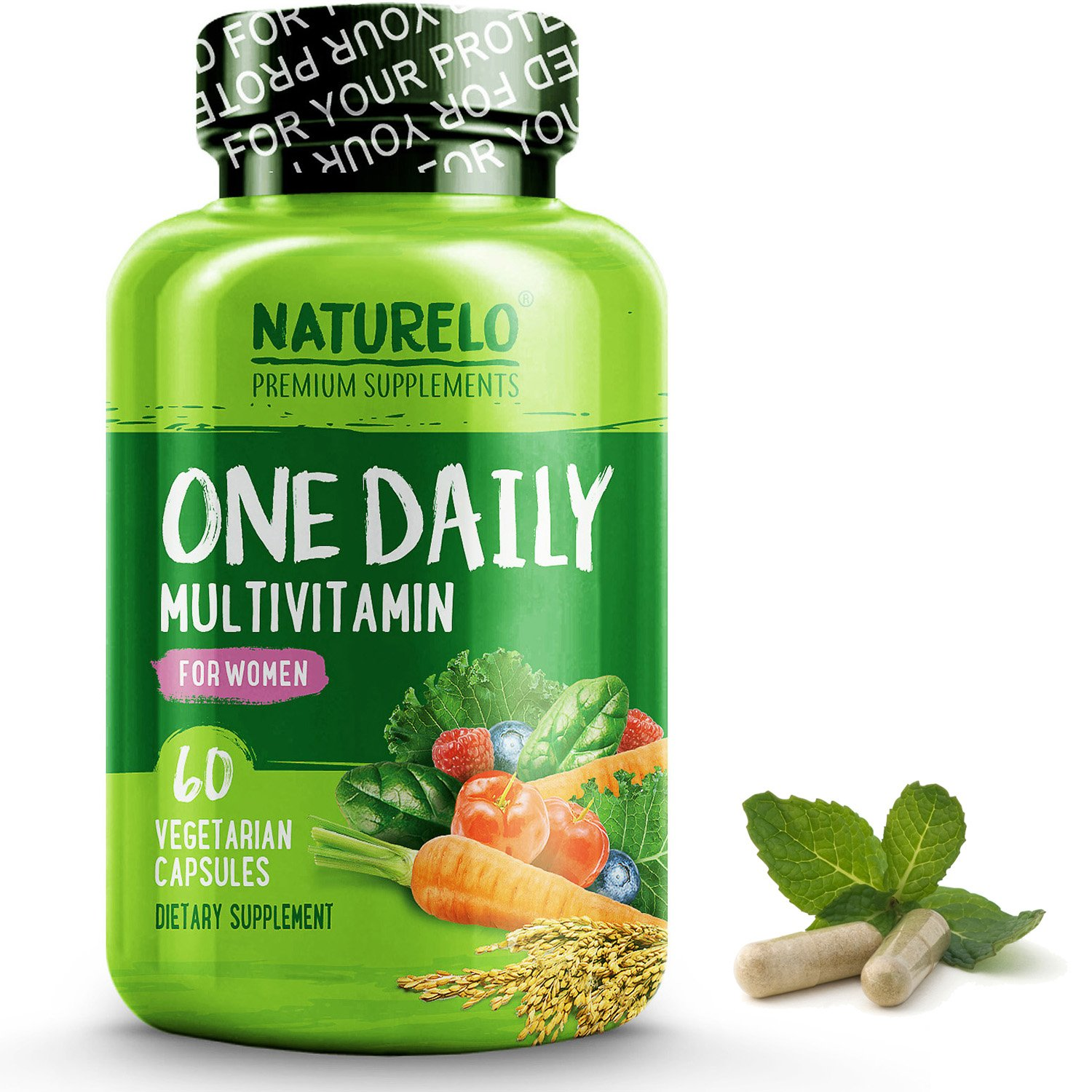 Amazoncom Naturelo Whole Food Multivitamin For Teens Natural
