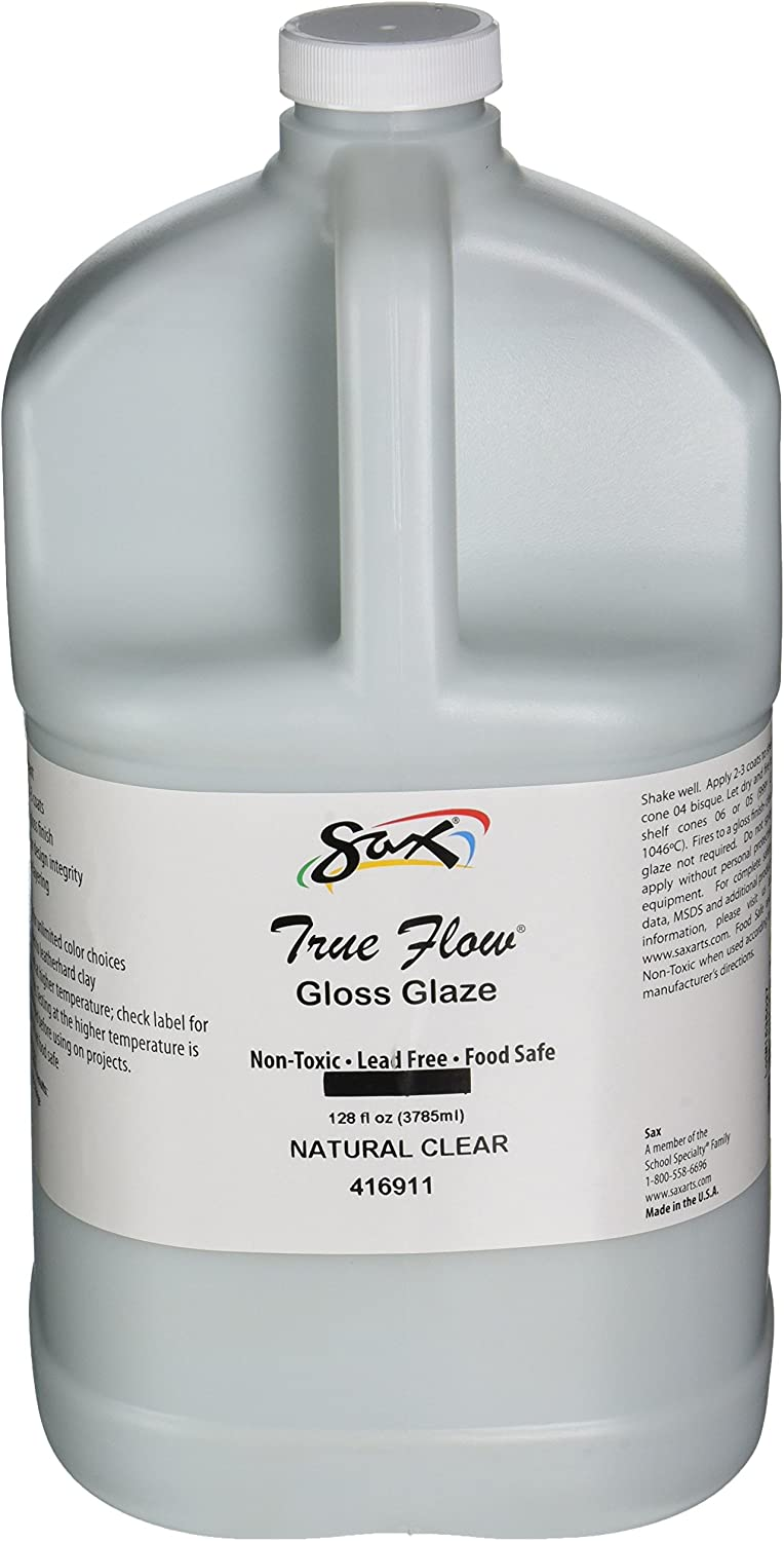 Sax True Flow Gloss Glaze, Natural Clear, Gallon - 416911