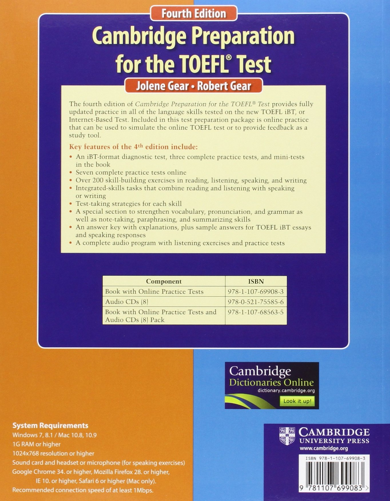 Cambridge Preparation for the TOEFL Test Book with Online Practice Tests by Cambridge University Press