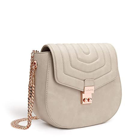 LaBante - borsa piccola donna -Courtney - borsa grigia pochette donna  elegante crossbody bag donna 2a5b5e14774