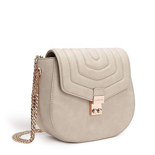 bbe9fea4c24f LaBante - Cross Body Bag - Courtney - Grey Handbag for Women Clutch Bag  Small Bag