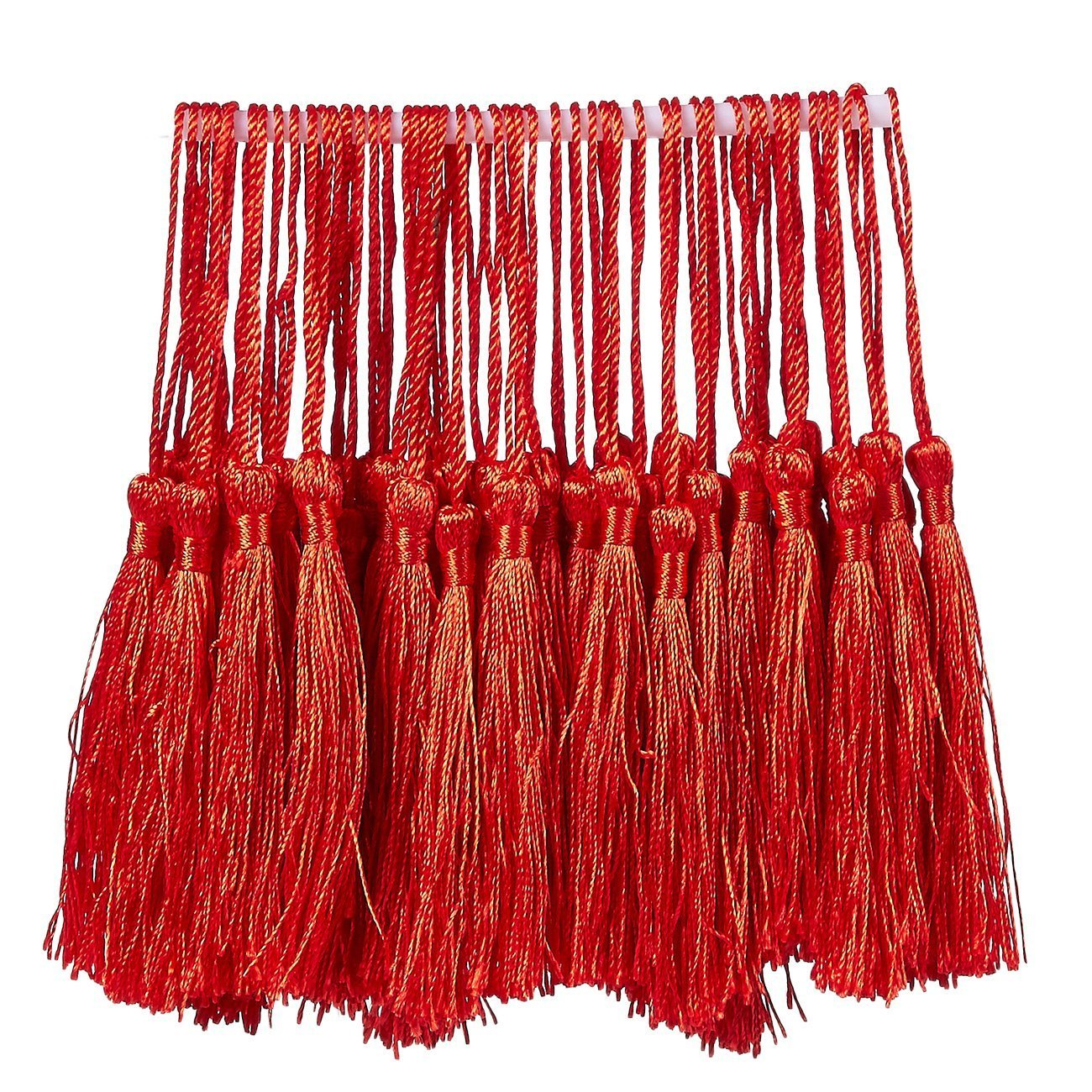 DIY Jewelry Making Bookmark Tassels 0.1 x 5.4 x 0.1 inches Ideal for Handmade Craft Accessory Black 150-Pack Silky Floss Tassel Pendant with 2.3-inch Cord Loop Home Decoration Souvenir