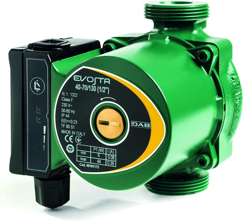 Bomba electrónico para instalaciones 'Evosta' Bomba indicata para la circulación de líquido VETTORE para instalaciones de paneles solares y de calefacción tradicional. Y 'de grado de Garantire UN corr