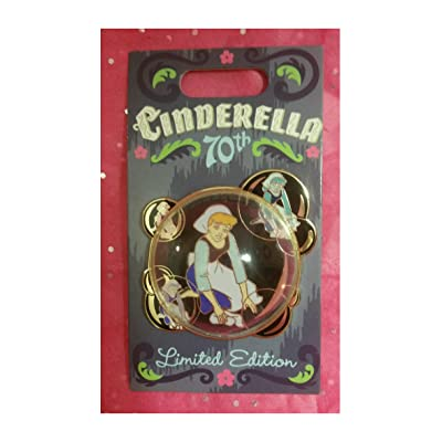 DisneyParks Cinderella 70th Bubble Pin Limited Edition: Sports & Outdoors