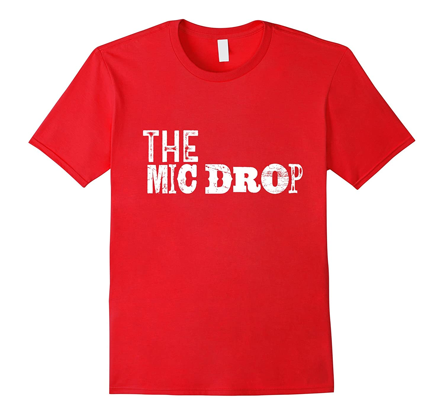 Youngest Child Shirt The Mic Drop Family Tribe Son Daughter-TH