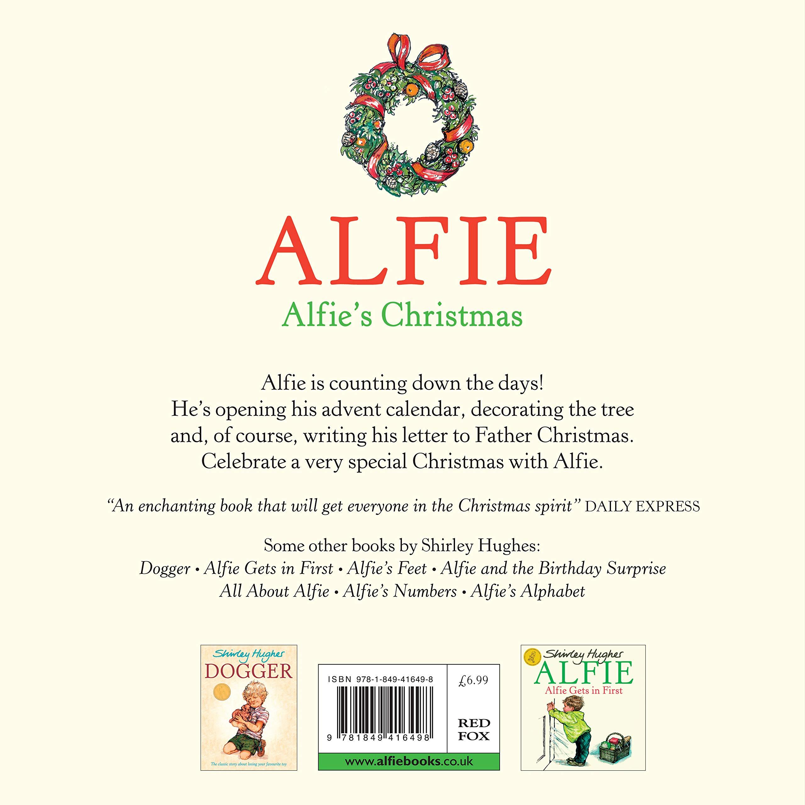 942910afee7 Alfie s Christmas  Amazon.co.uk  Shirley Hughes  9781849416498  Books